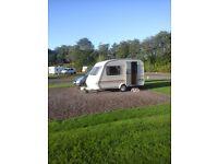 2 berth caravan elddis wisp 350/2