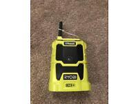 Ryobi one Bluetooth radio