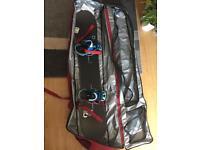 Burton Custom 156cm with travel bag