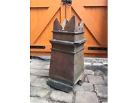 Old Pot Chimney ideal for plant pot, planter, garden Ornament *now £10*