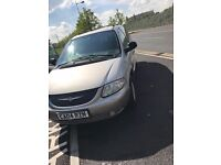 2004 Chrysler Grand Voyager. 2.7 CRD. Immac condition. E/DOORS