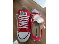 New Red converse size 39