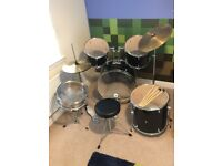 Rockburn DTX Series Full Size Drum Kit