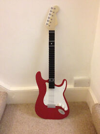 Guitar shaped cd holder , holds 20 cd's excellent condition
