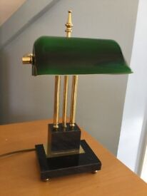 Vintage Desk Lamp - Marble base