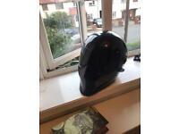Bandit style motorcycle helmet medium