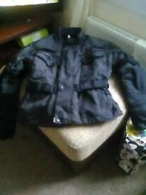Motorcycle jacket XL .
