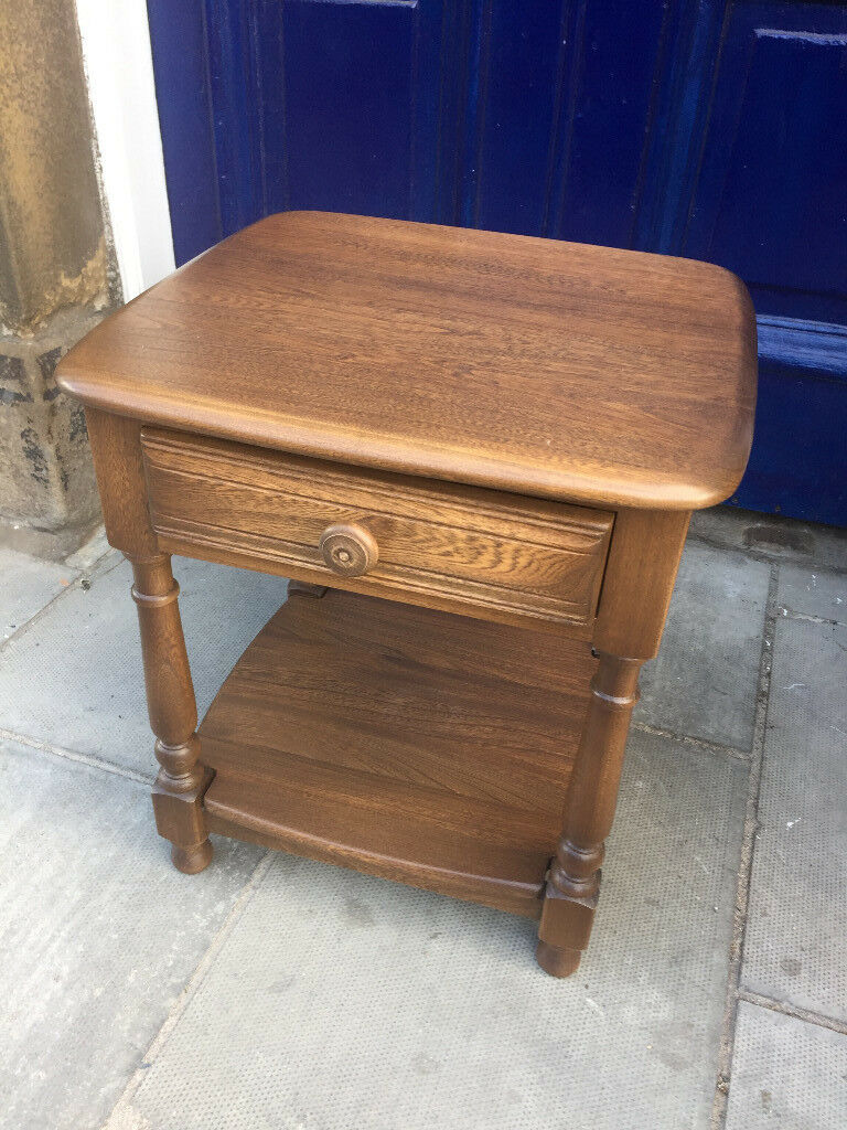 Ercol Set including ,lamp table and a pair of storage cabinets , all in excellent condition.