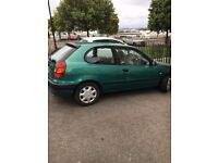 TOYOTA COROLLA FOR SALE AUTOMATIC 1998 MODEL IN A VERY GOOD CONDITION WITH FULL SERVICE HISTORY