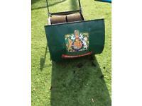 Ransomes Ajax vintage push along lawn mower