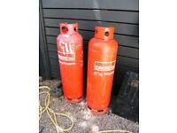 One full 47kg Calor Gas bottle