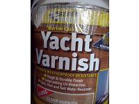 Bargain - Everbuild 2.5 Litre Yacht Varnish - Clear RRP £53.16