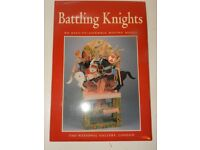 Model Building Set National Gallery London: Battling Knights Moving Model! Game Puzzle
