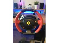 Ferrari 458 spider steering wheel and pedals