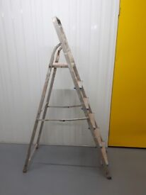 Step Ladder 6 Tread High Handrail FREE local delivery
