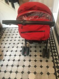 Jane Carrera buggy including muff