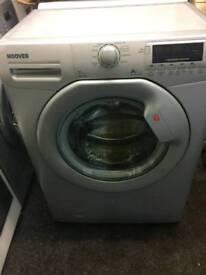 Silver Hoover washing machine 7kg