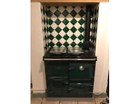 Rayburn gas cooker