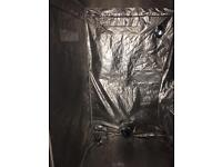 Hydroponic tent and kit