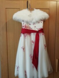 Girls wedding dress age 6 years