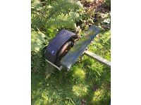 Boat trailer for RIB or inflatable boat up to 3.1 metres. Galvanised. Very good condition.