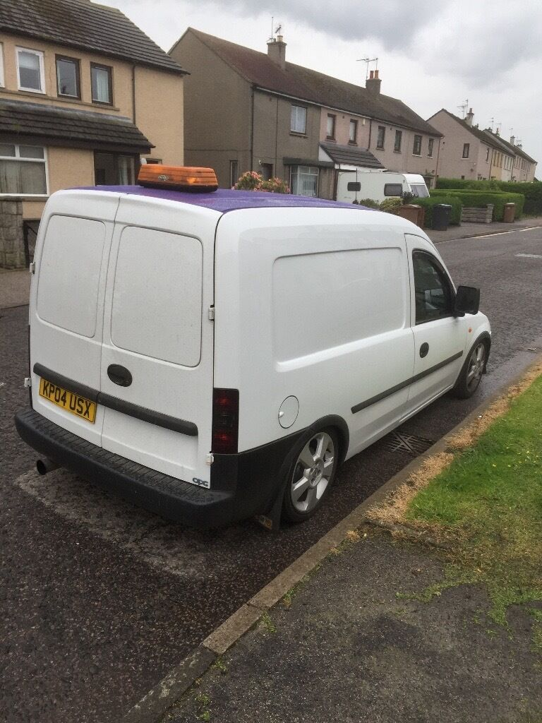 vauxhall combo van modified