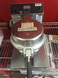 Commercial Waffle Cone Maker - Gold Metal Cone Baker - iFoodEquipment.ca