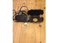 Sony PSP 3000 - 3004 , Piano Black + Hard carrying case + 1 game