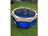 XL dog/small animal collapsable cage
