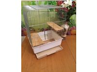Cage for parrot, rat, chipmunk, guinea pig, hamster, chinchilla, degu