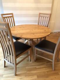 NEXT - Oak Dinning Table