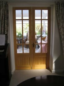 Glazed Timber Internal French Doors