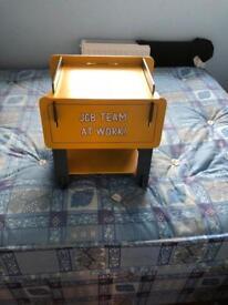 JCB bedside table