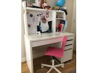 Ikea kids study table with chair (£35)