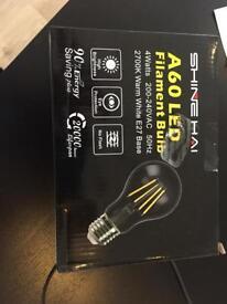 6 Filament Lightbulbs