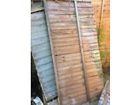 FREE old fence panels
