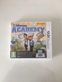 Nintendo 3DS Mensa Academy