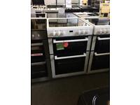 White graded new world 60cm electric cooker