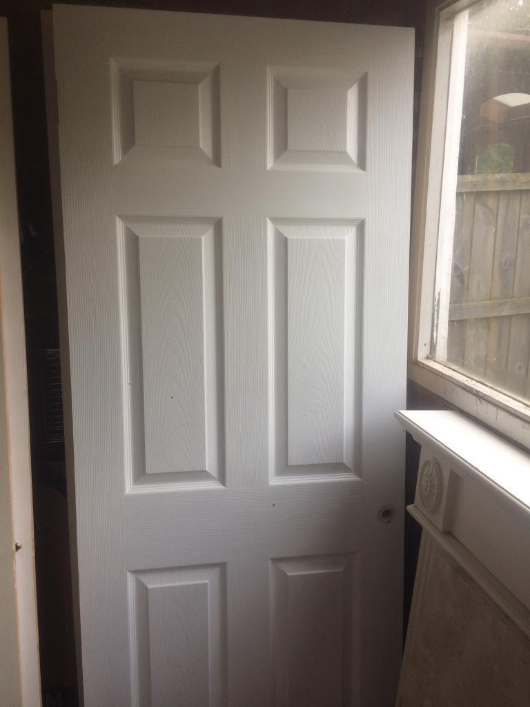 Six panel fire doors x2