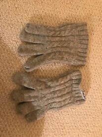 Jack wills gloves Grey