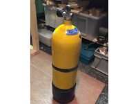 12 Litre Faber diving cylinder - 232 Tall