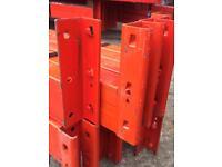 Used Pallet racking beam .3 ton capacity