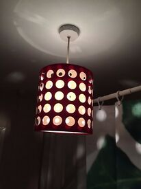 Beautiful Ceiling lamp for sale (RED)