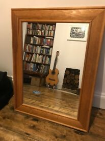 Large Pine mirror excellent condition