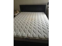 King Size Dormeo Memory Foam Mattress and bed base