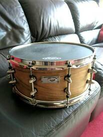 "KD SPITFIRE 6.5"" X 14"" ENGLISH OAK SNARE DRUM"