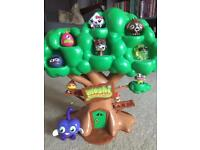 Moshi monsters and tree house
