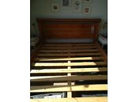 King size bed frame in great condition