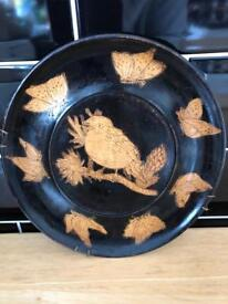 Bird picture plate