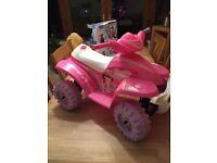 Pink toy quad